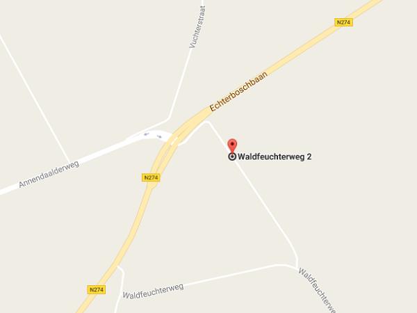 Locatie Annendaalderbos